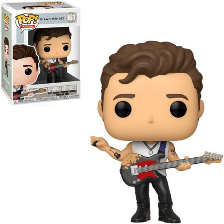 Funko Pop! Rocks: Shawn Mendes - Shawn Mendes W/ Guitar #161