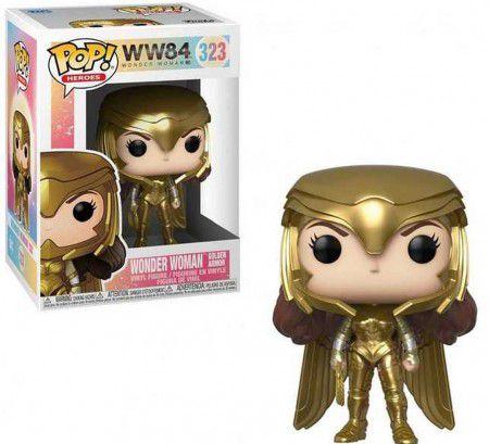Funko Pop Heroes: WW84 - Wonder woman Golden Armor #323