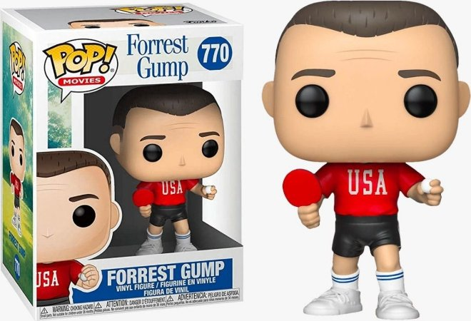 Funko Pop Movies: Forrest Gump #770