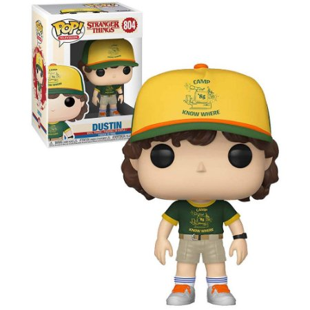 Funko Pop! Television: Stranger Things - Dustin at Camp #804
