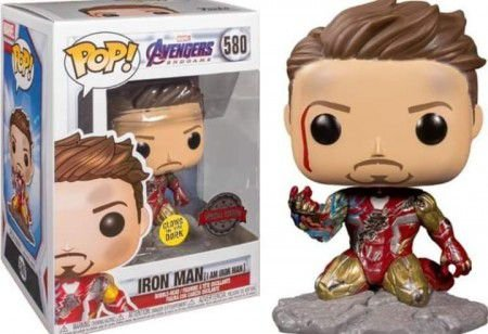 Funko Pop Marvel: Avengers Endgame - I am Iron Man (Glow) #580