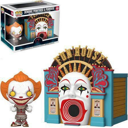 Funko POP! Movies: It Chapter Two - Demoniac Pennywise W/Funhouse #10