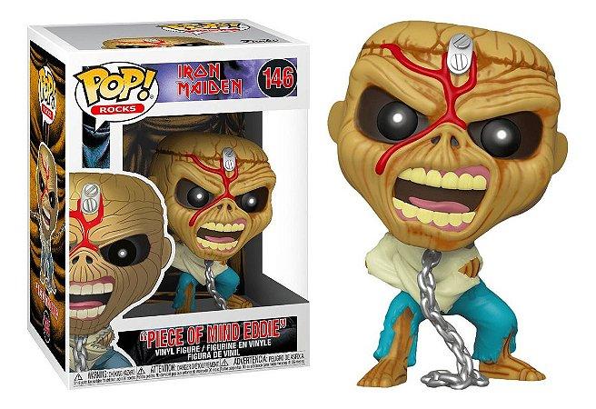 Funko POP! Rocks: Iron Maiden - Piece Of Mind Eddie #146