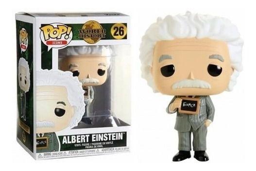 Funko POP! Icons: World History - Albert Einstein #26