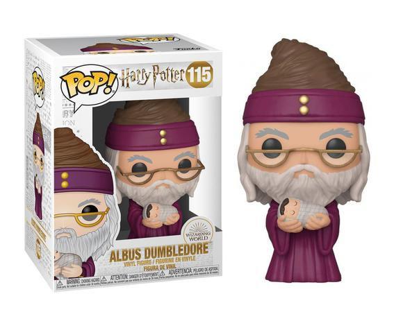 Funko POP!: Harry Potter - Albus Dumbledore #115
