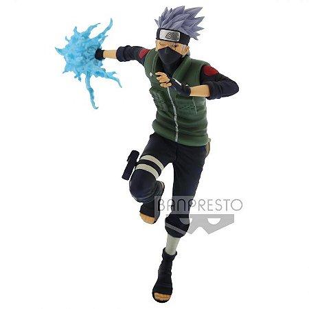 Action Figure: Naruto Shippuden - Kakashi Hatake Naruto Vibration Stars Banpresto