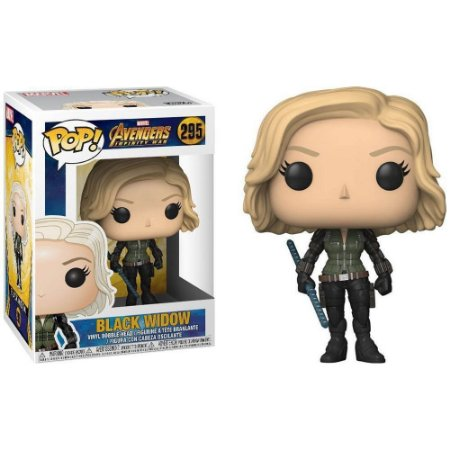 Funko Pop!: Avengers Infinity War - Black Widow #295