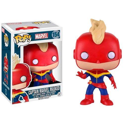 Funko POP!: Marvel - Captain Marvel #154