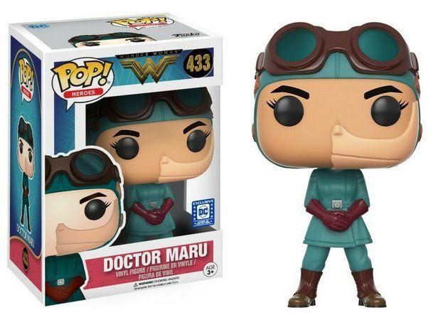 Funko POP! Heroes: Wonder Woman - Doctor Maru #433
