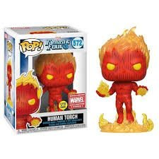 Funko POP!: Fantastic Four - Human Torch #572