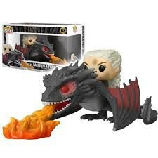Funko POP! Rides: Game Of Thrones - Daenerys & Fiery Drogon #68