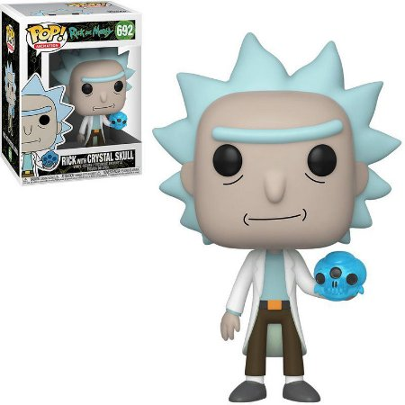 Funko POP! Animation: Rick & Morty - Rick With Crystal Skull #692
