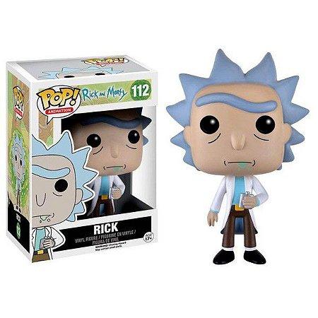 Funko POP! Animation: Rick & Morty - Rick #112