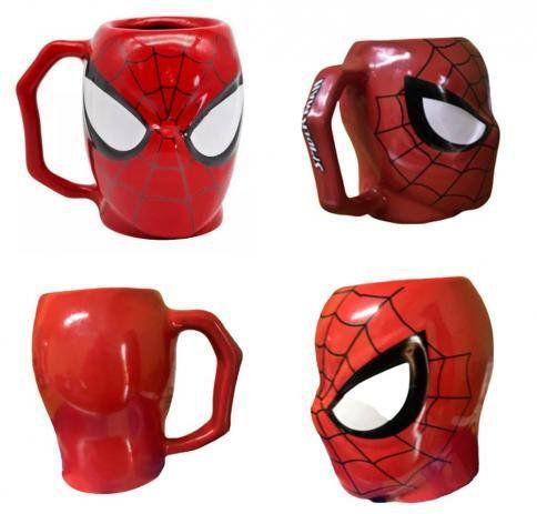 Homem Aranha Caneca 3D Spider-man