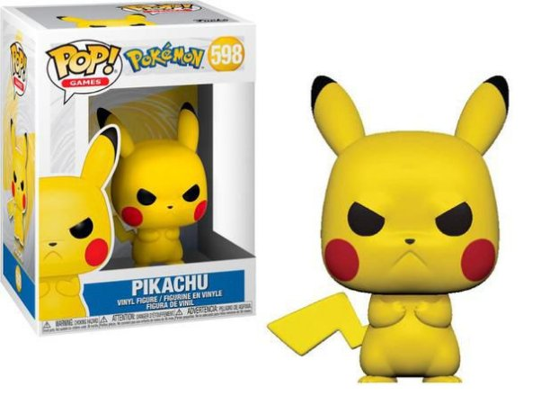 Funko Pop! Games: Pokémon - Pikachu #598