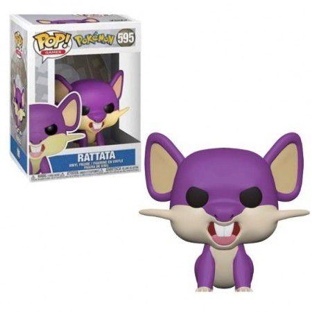 Funko Pop! Games: Pokémon - Rattata #595