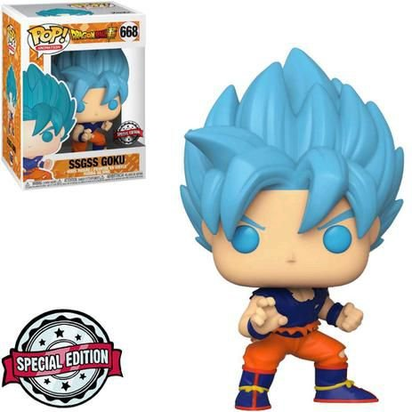 Funko Pop! Animation: Dragon Ball Super - SSGSS Goku #668