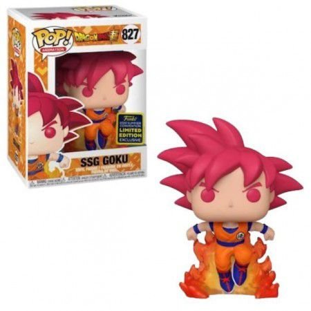 Funko Pop! Animation: Dragon Ball Super - SSG Goku [SDCC] #827