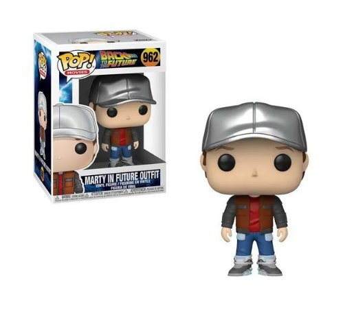 Funko Pop! Movies: Back To The Future - Marty In Future Outfit #962