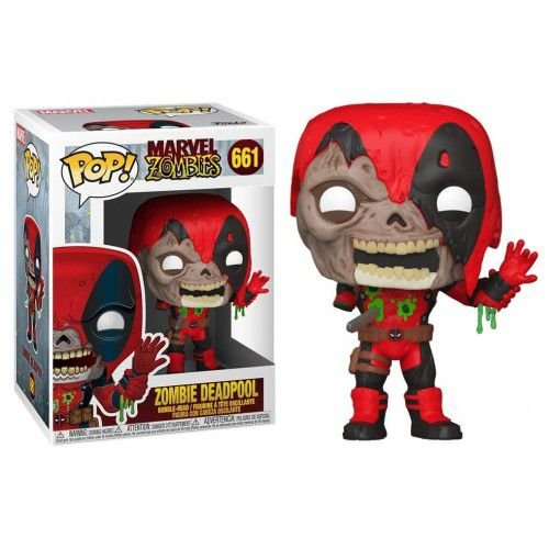 Funko Pop!: Marvel Zombies - Zombie Deadpool #661