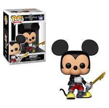 Funko Pop! Games: Kingdom Hearts - Mickey #489