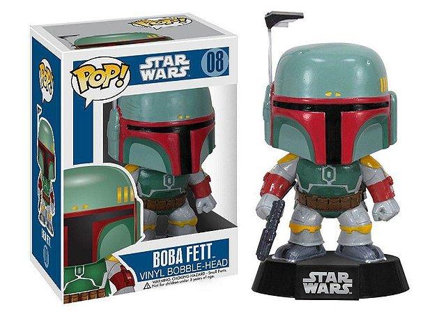 Funko Pop!: Star Wars - Boba Fett #08