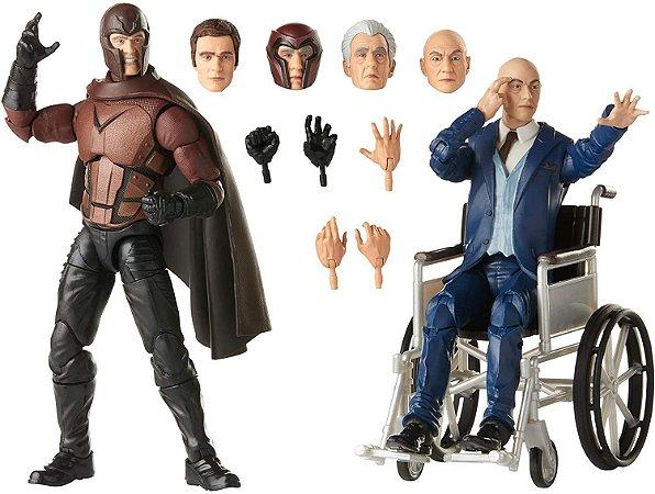 Hasbro Marvel Legends Series X-Men Magneto e Professor