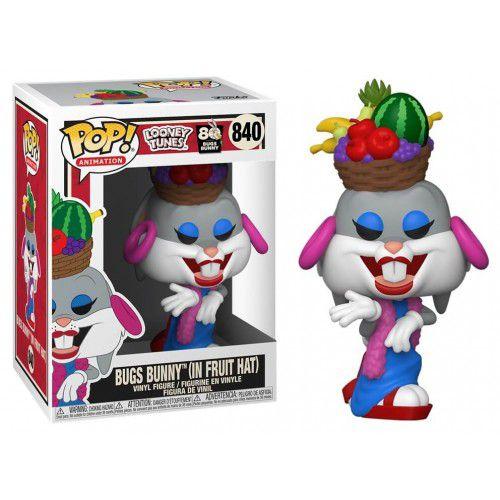 Funko Pop Animation: Looney Tunes - Bugs Bunny (In Fruit Hat) #840