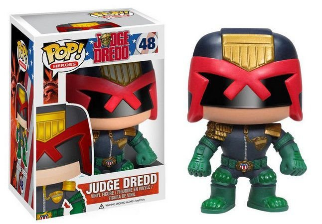 Funko Pop Heroes: Judge Dredd #48
