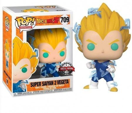 Funko Pop Animation: Dragon Ball Z - Super Saiyan 2 Vegeta #709