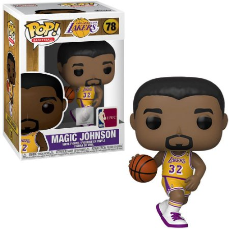 Funko Pop Basketball: Lakers - Magic Johnson #78