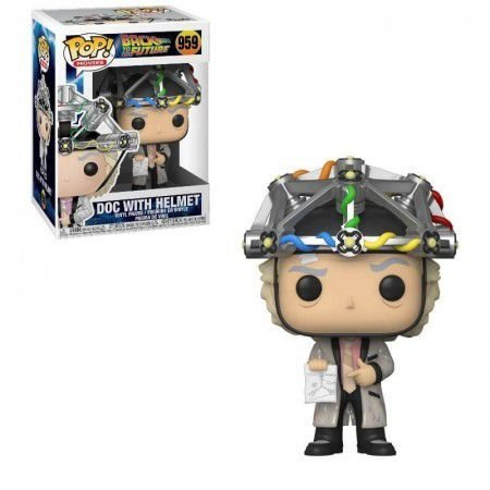 Funko Pop! Movies: Back to the Future - Doc with Helmet #959