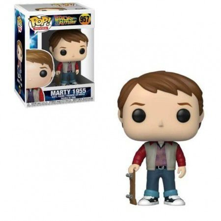 Funko Pop! Movies: Back to the Future - Marty w/ Skate #957