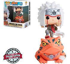 Funko Pop Animation: Naruto Shippuden - Jiraiya On Toad #73