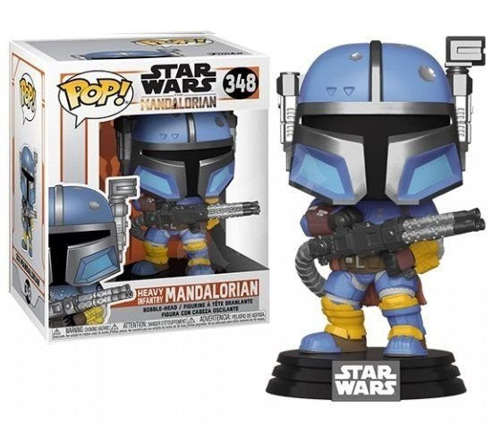 Funko Pop: Star Wars - Heavy Mandalorian #348