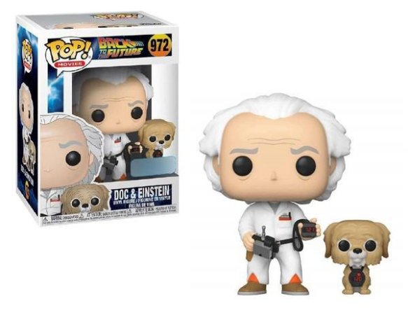 Funko Pop! Movies: Back To The Future - Doc & Einstein (Excl) #972