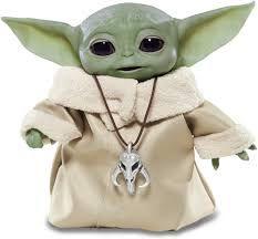 Figura Eletrônica Mandalorian The Child Baby Yoda Personagem Star Wars Hasbro