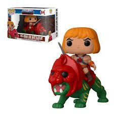 Funko Pop Rides: Masters Of The Universe - He-man On Battlecat #84