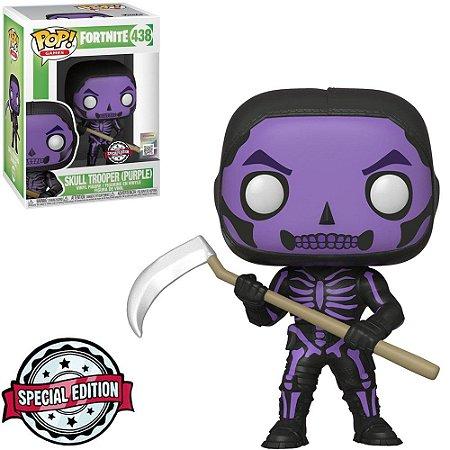 Funko Pop Games: Fortnite - Skull Trooper (Purple) #438