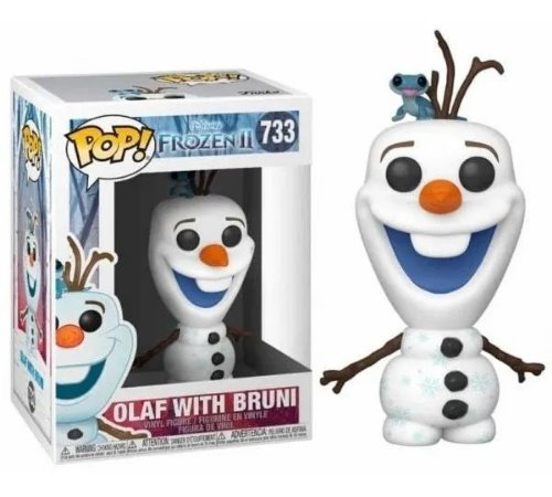 Funko Pop: Frozen 2 - Olaf With Bruni #733