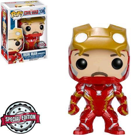 Funko Pop: Captain America Civil War - Iron Man #136