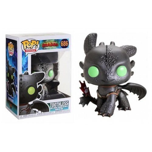 Funko Pop Movies: How To Train Your Dragon - Toothless #686