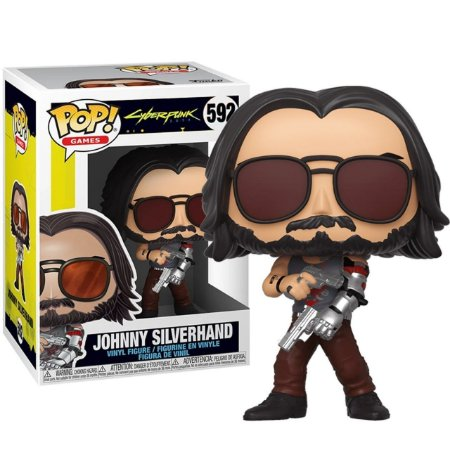 Funko POP! Games: Cyberpunk 2077 - Johnny Silverhand #592