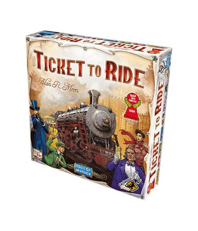Board Game: Galápagos Jogos - Ticket To Ride