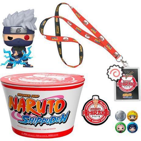 Funko Pop Animation: Naruto Shippuden - Kakashi Box
