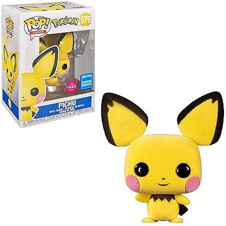 Funko Pop Games: Pokemon - Pichu (Flocked) #579