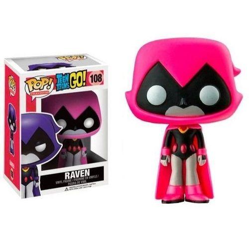Funko Pop Television: Teen Titans GO! - Raven (Pink) #108