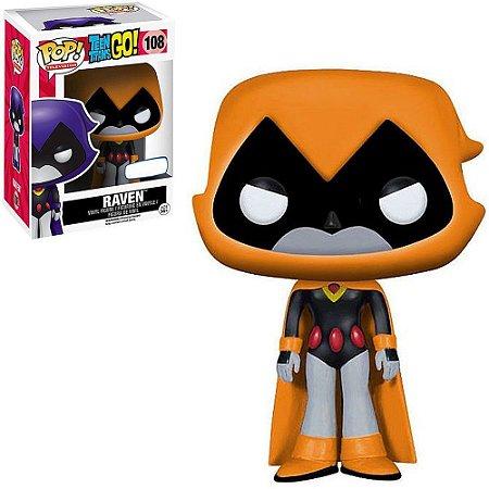 Funko Pop Television: Teen Titans GO! - Raven (Orange) #108