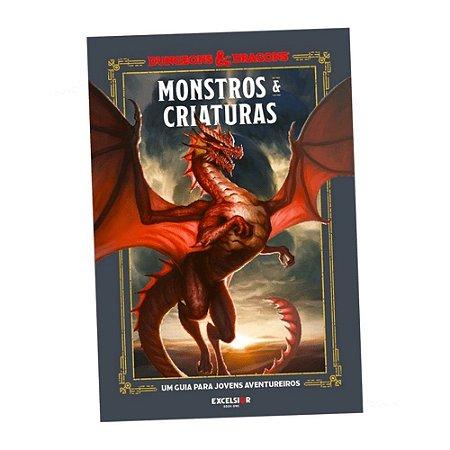 Livro - Dungeons and Dragons: Monstros e Criaturas