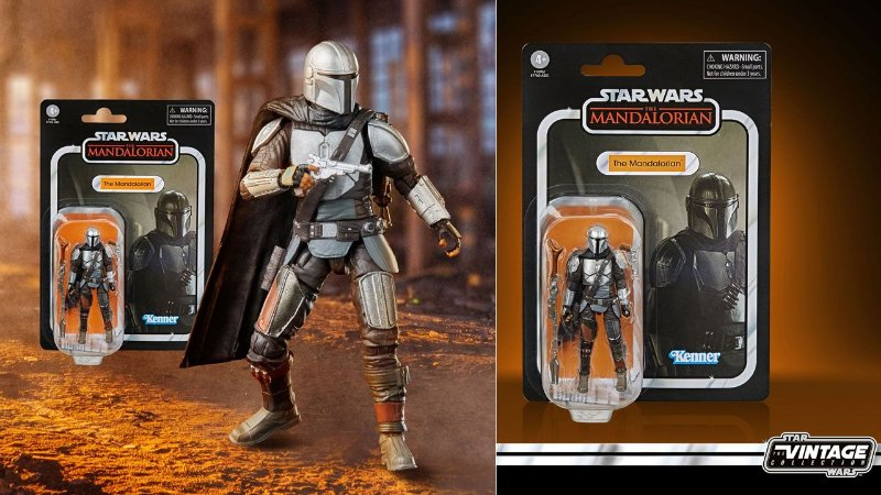 Action Figure: The Mandalorian - The Vintage Collection